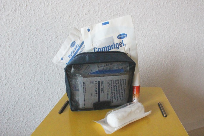 8. First aid kit 1